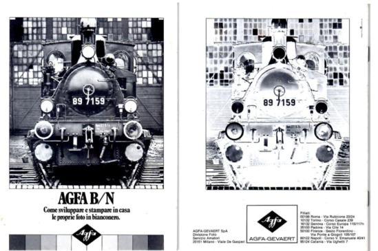 Agfa -come sviluppare e stampare