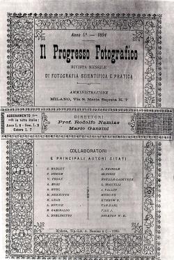 progresso fotografico 1894 -1