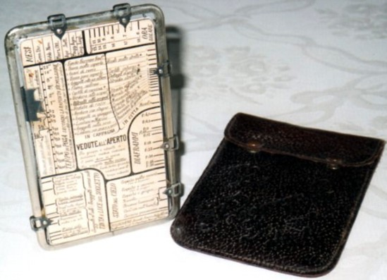 regolo esposimetrico -anni '20