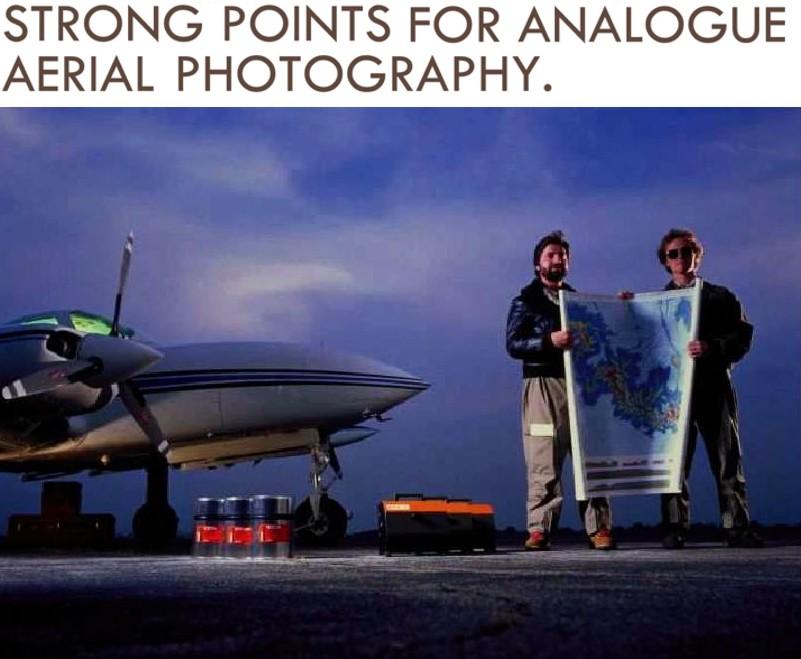 Fotografia Aerea analogica