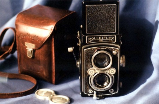 1939 Rolleiflex Automat con Tessar