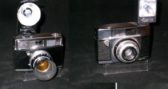 Agfa Optima 500 e Silette - 1960