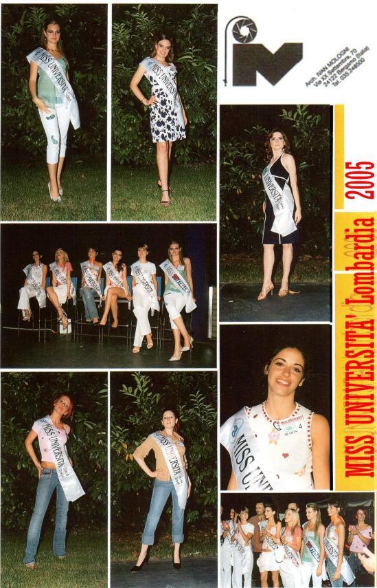 miss università 2005