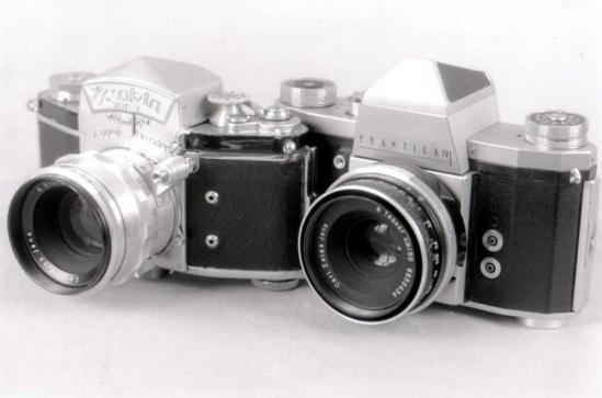 03 Prktica IV e Exacta Varex - anni '50