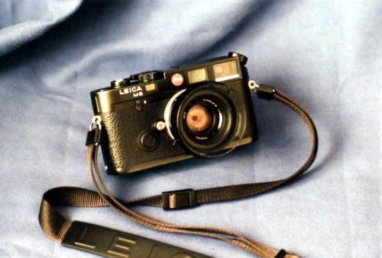 1990 Leica M6 con Summilux 35-1,4