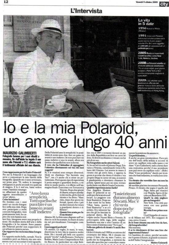 polaroid 40 anni
