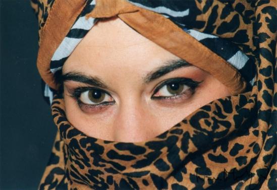 ritratto - occhi di leopardo