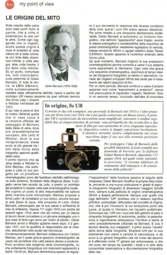 mondo Leica 1