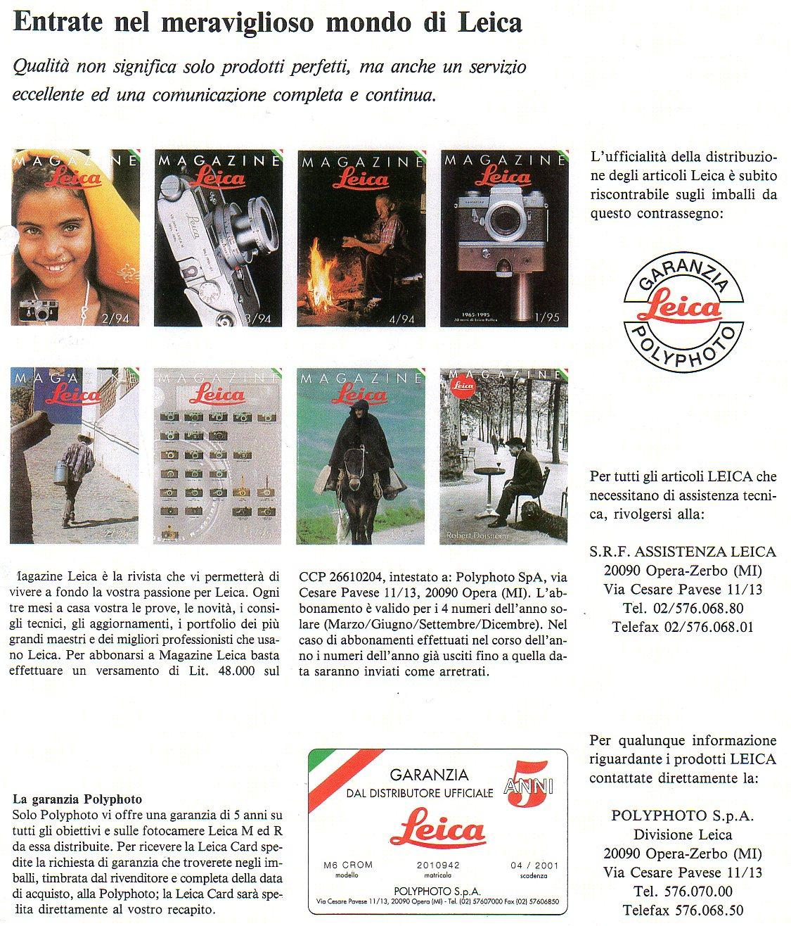 mondo Leica 2