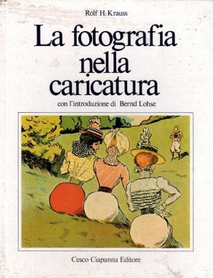 libro caricatura fronte