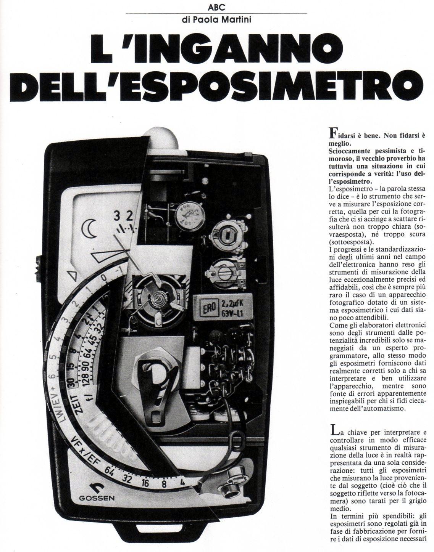 esposimetro 1