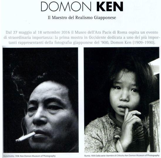 mostra Domon Ken