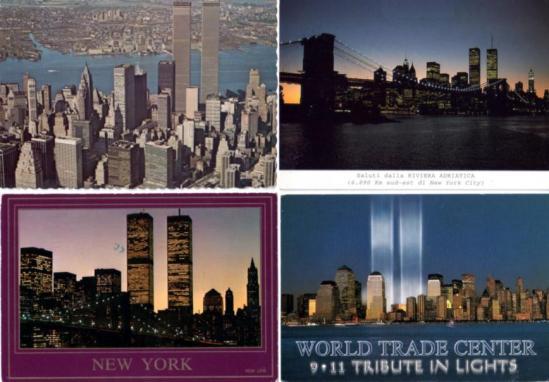 11 settembre - cartoline